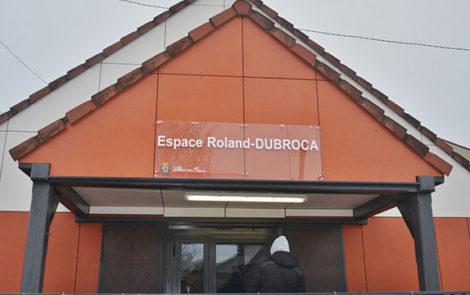 Entrée de l'Espace Roland Dubroca