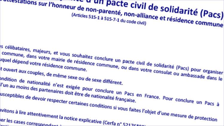 Le Pacs Desormais En Mairie Ville De Villiers Sur Marne