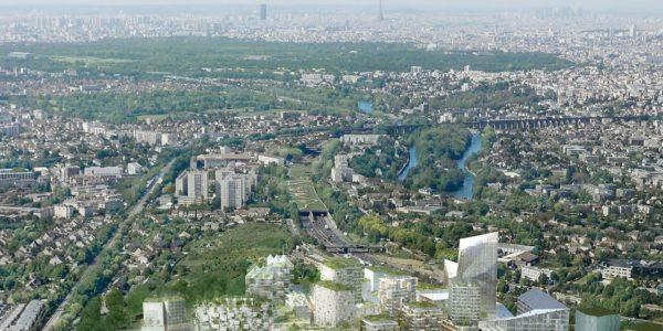 Balcon Sur Paris Compagnie De Phalsbourg Architectes 01