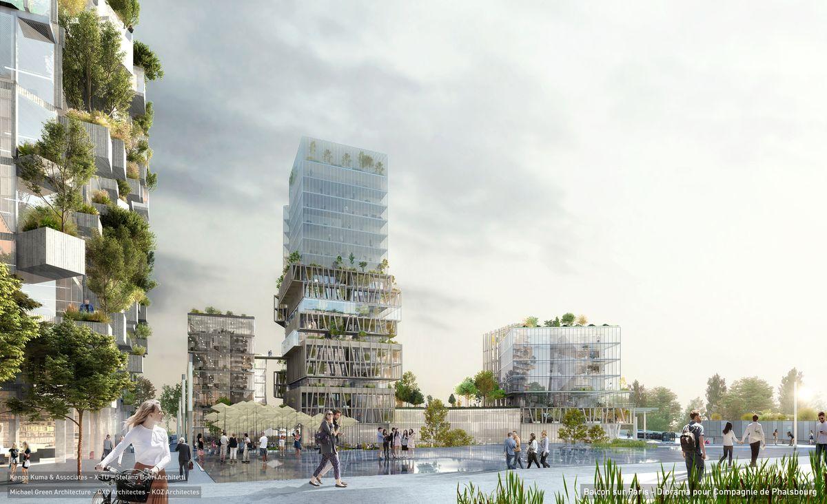 Grand paris d couvrez le projet villi rain ville de villiers sur marne - Compagnie des produits pour le jardin ...