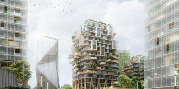 Balcon Sur Paris Compagnie De Phalsbourg Architectes 04