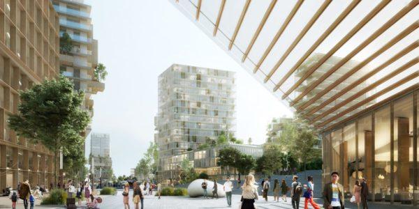 Balcon Sur Paris Compagnie De Phalsbourg Architectes 06