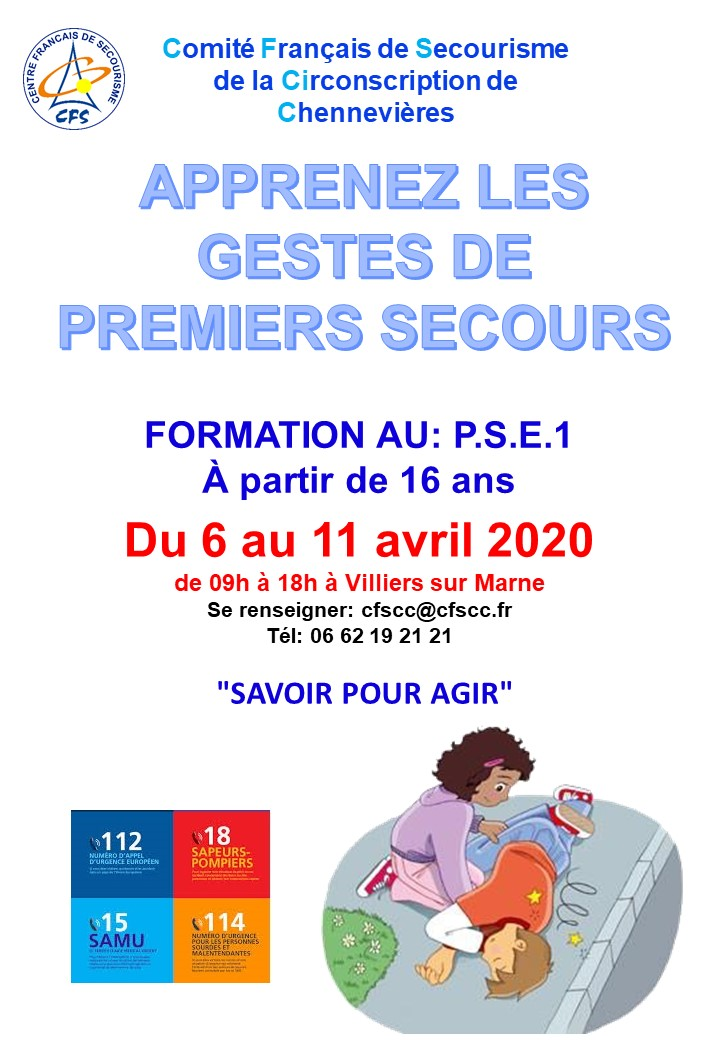 formation pse1 06/04/2020 - 11/04/2020